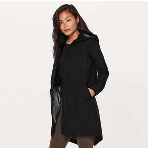 NEW Lululemon Rain Haven Jacket Black Size 2